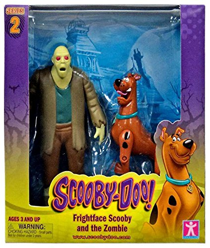 Scooby Doo, Series 2 Frightface Scooby and the Zombie Action Figures