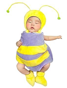 THEE Disfraz de Fotografía de Abeja Bebé Recién Nacido: Amazon.es ...
