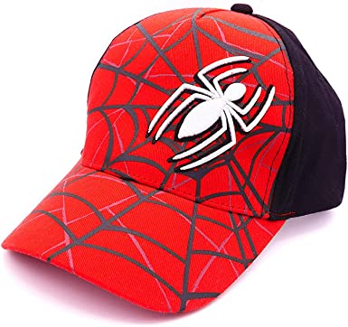 Kids Boys Avenger Spiderman School Sunny Baseball Cap Hat  Adjustable 4-8 years