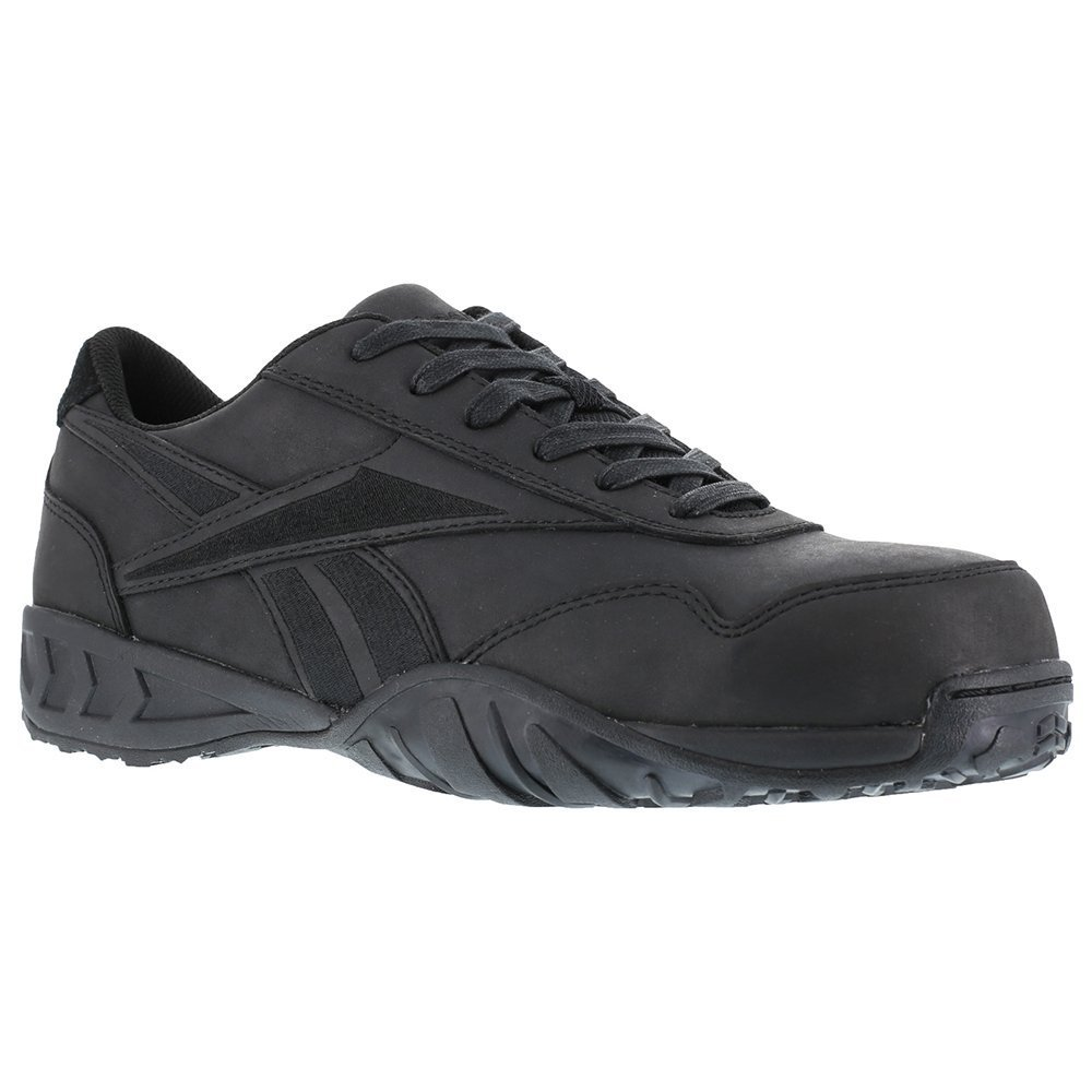 Reebok Men's Bema Work Shoes Composite Toe - Rb1945 B00D4BCVSQ 7 2E US|Black