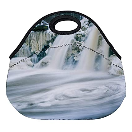 e0944bf0e33d Amazon.com: Uclipers Neoprene Lunch Bag Insulated Timelapse ...