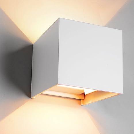 Delightful INHDBOX Aluminum Waterproof IP65 LED Exterior Wall Light Angle Adjustable  Lamp Modern Simple Charm Wall Lamp