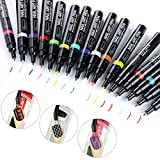 16 Colors Set Nail Art Pen for 3D Nail Art DIY Decoration Nail Polish Pen Set 3D Design Nail Beauty
