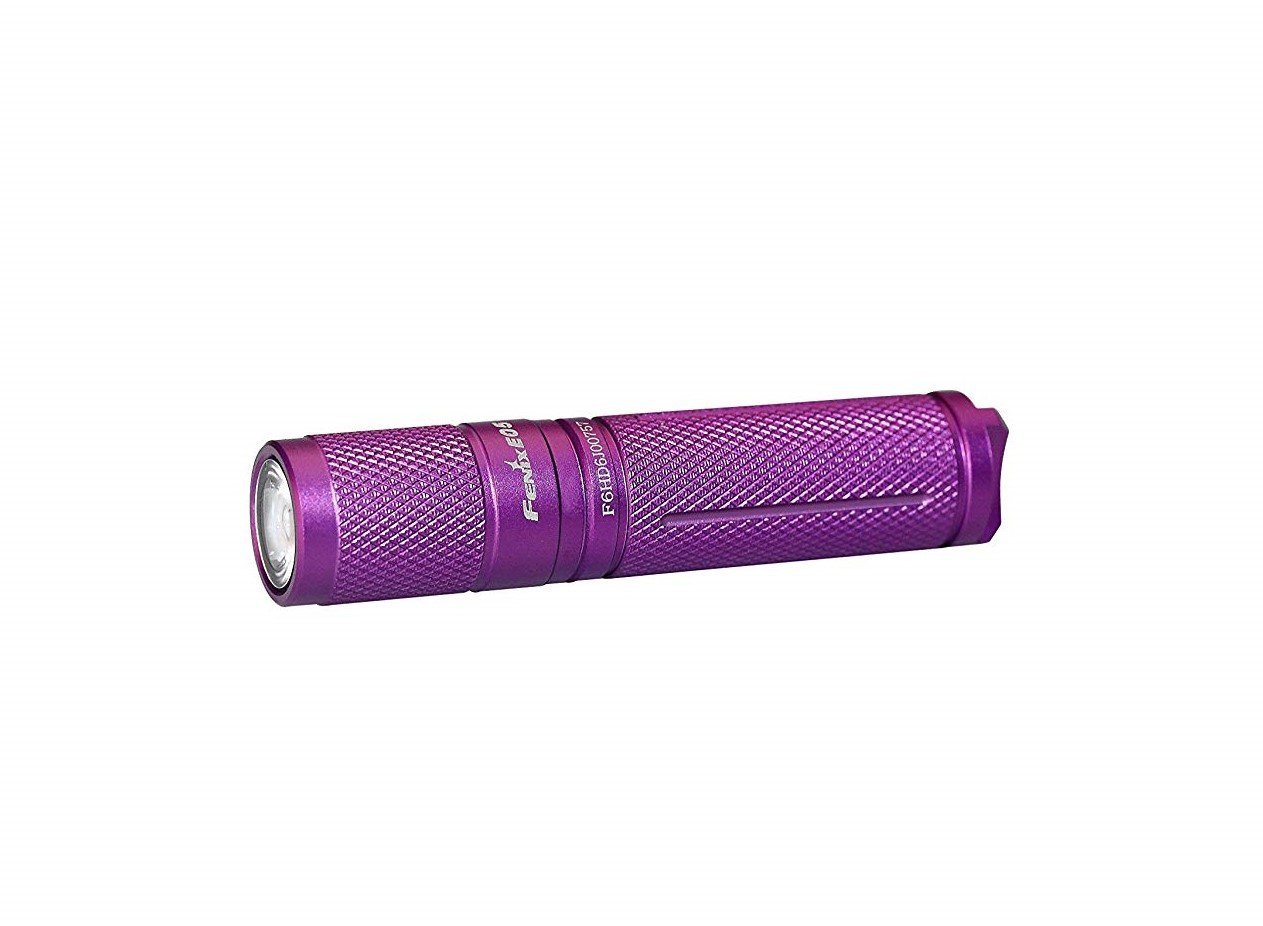 Fenix Flashlights E05 85 Lumens Flashlight, Purple