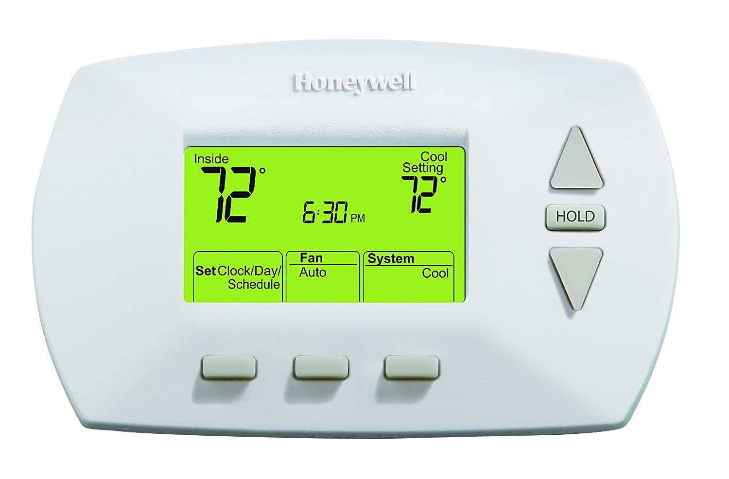 Honeywell Th6110d1005 Installation Manual User Guide That Thermostat Product Instruction Amazon Com Rth6450d1009 E1 5 1 Day Programmable Rh