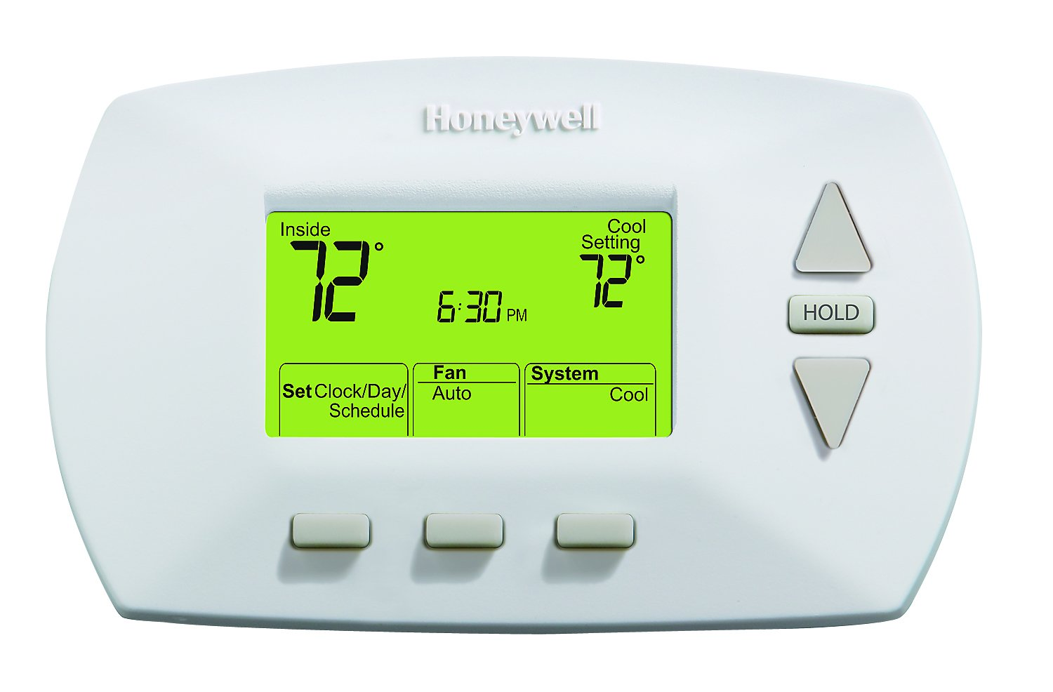 Best Rated In Home Programmable Thermostats Helpful Customer Wiring Diagram Besides Electric Baseboard Heater Thermostat Honeywell Rth6450d1009 E1 5 1 Day Product Image