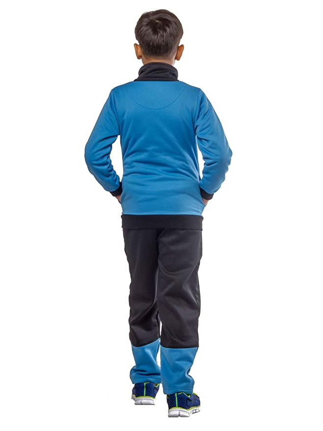 b1cd42b14 BOB Kids Winter wear Tracksuit (SkyBlue) for 4-5 Years Boys.: Amazon.in:  Clothing & Accessories