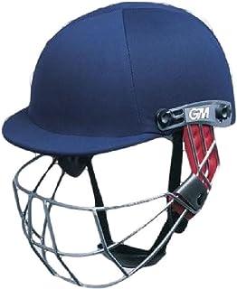 Gunn & Moore Purist Geo Tête/Protection du Visage de Cricket Batsmans Casque Bleu Marine Cache-col