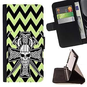 King Case - FOR HTC One M8 - ?Eternity is always there - Prima caja de la PU billetera de cuero con ranuras para tarjetas, efectivo Compartimiento desmontable y correa para la mu?eca