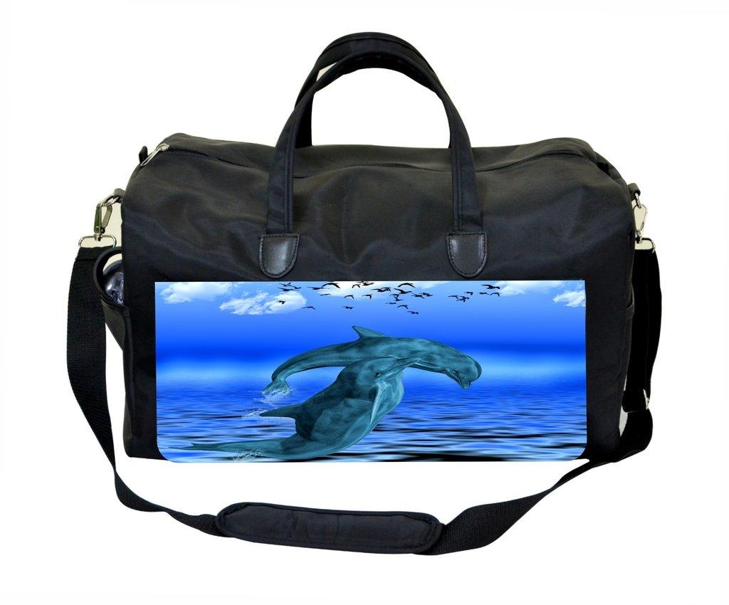 Dolphins Painting Weekender Bag