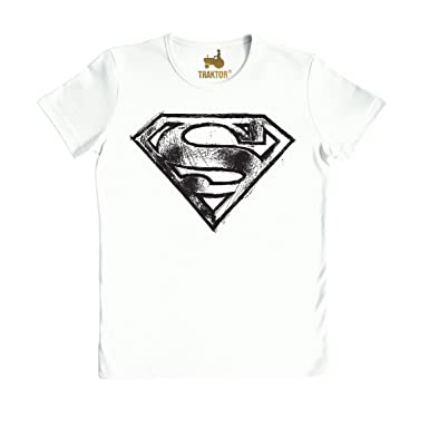 f29c7ba7c Logoshirt Camiseta Unisex Superman - Logo Scribble Camiseta Ajustada   Amazon.es  Ropa y accesorios