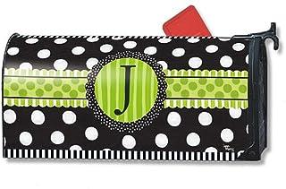 MailWraps Frolic Monogram 'J' Mailbox Cover 01190J