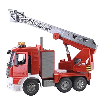 Drfeify 1:20 Simulación Camión de Bomberos de Rescate Modelo de ...