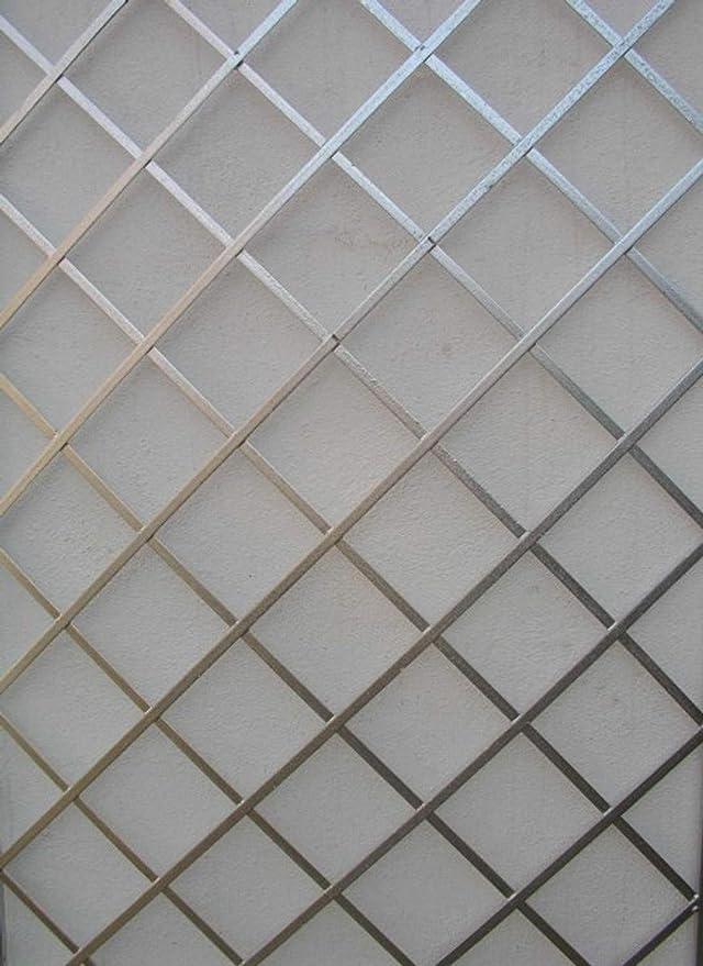 Metall Eisen Spalier Rankgitter Rosen Wandgitter Meran 120 240 FEUER Verzinkt