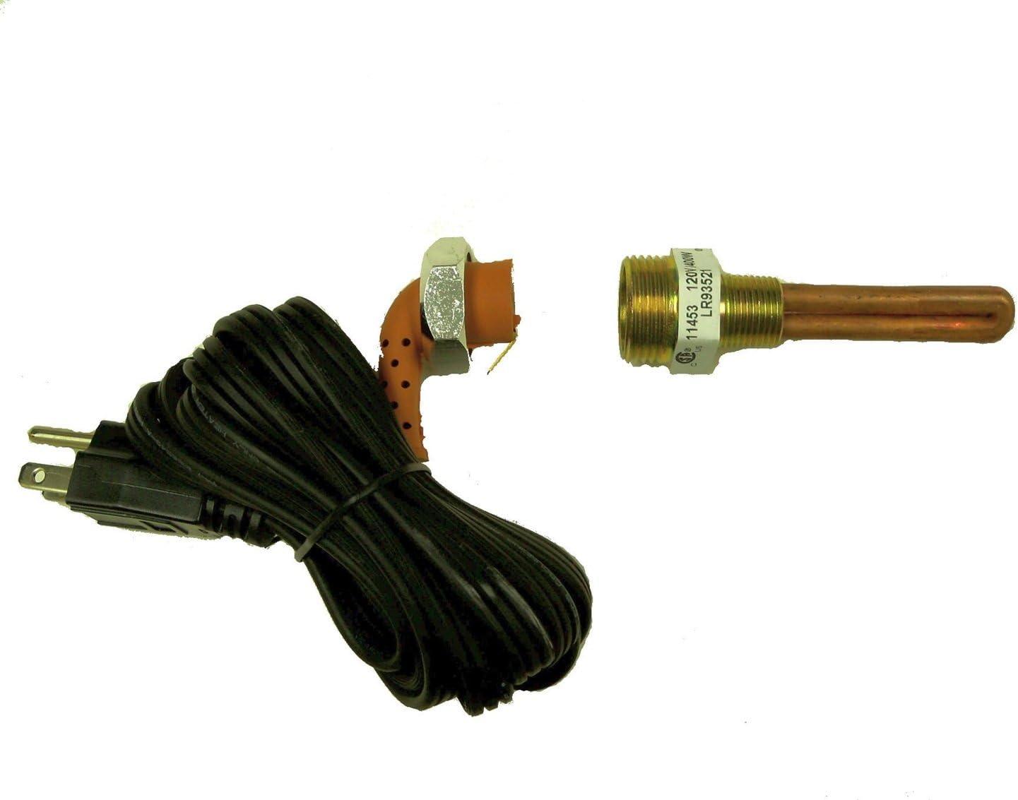 Kats 11423 400 Watt 1//2 NPT Frost Plug Heater