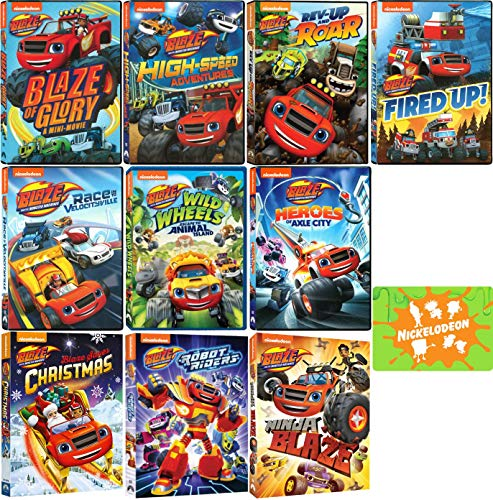 Blaze and the Monster Machines: Nickelodeon TV Series Ultimate DVD Collection with Bonus Art Card