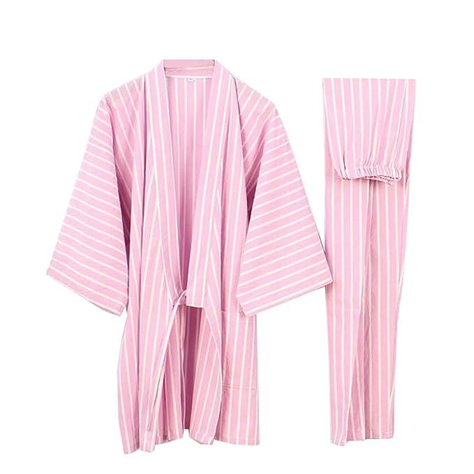 Fancy Pumpkin Traje de Pijama de Traje de Pijamas Kimono de Estilo japonés para Mujer [