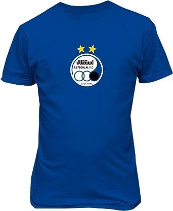 Amazon Esteghlal Tehran Football Club Iran T Shirt Soccer