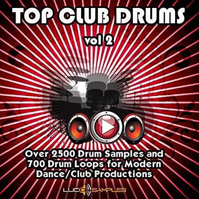Amazon com: Top Club Drums Vol 2 - Over 2500 Fresh Drum