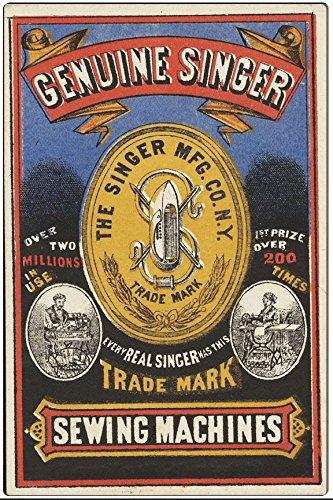 Singer sewing vintage ads