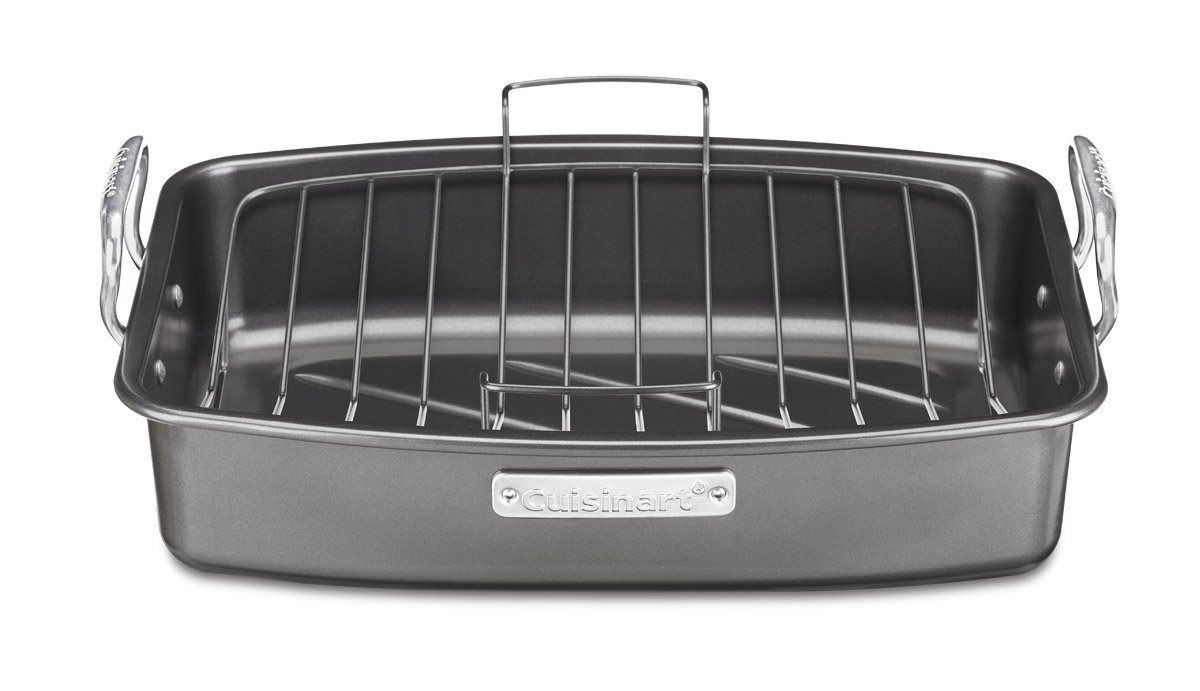 Cuisinart ASR-1713V Ovenware Classic Collection 17-by-13-Inch Roaster with Removable Rack by Cuisinart
