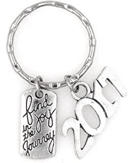 class of 2017 graduation keychain key ring office