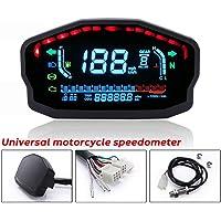 Motocicleta Digital velocímetro, Motobike Modificado pantalla LCD a