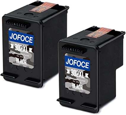 Jofoce Remanufacturado HP 302 302XL Cartuchos de tinta 2 Negro ...