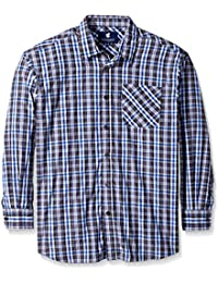 Men's Big and Tall New Wave Long Sleeve Shirt