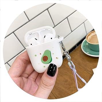 Amazon.com Cute Avocado Case for Airpods Accessories
