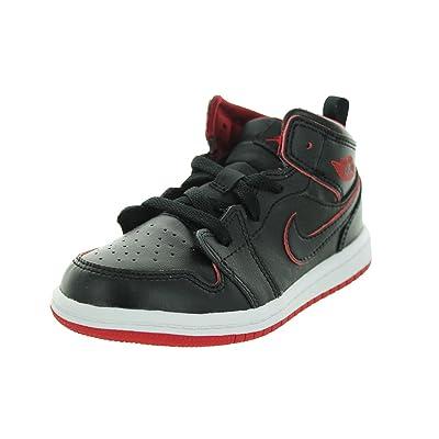 dernière sélection de 2019 meilleur endroit pour vente chaude authentique Nike Jordan 1 Mid Bt, Chaussures de Football Mixte Bébé ...