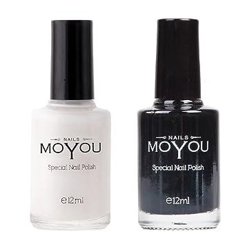 Moyou Nail Polish Pack Of 2 Shades Nail Polish Nail Art Design