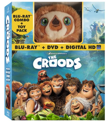 The Croods (Blu-ray / DVD + Digital Copy + Toy)