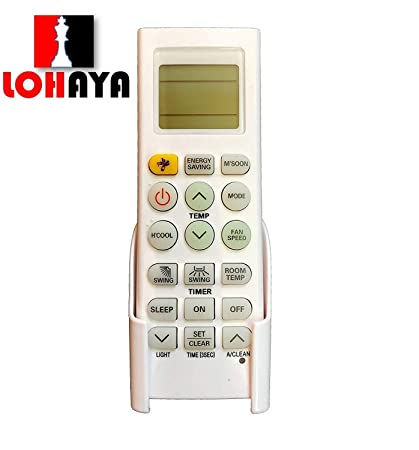 LOHAYA Remote Compatible for LG Split/Window AC Remote Control with  Mosquito Function (Please Match The Image with Your Old Remote)
