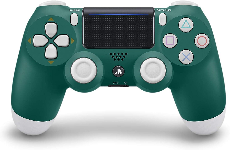 Sony DualShock 4 Gamepad PlayStation 4 Verde, Blanco - Volante/mando (Gamepad, PlayStation 4, Analógico/Digital, Cruceta, Hogar, Options, Share, Multi, Inalámbrico)