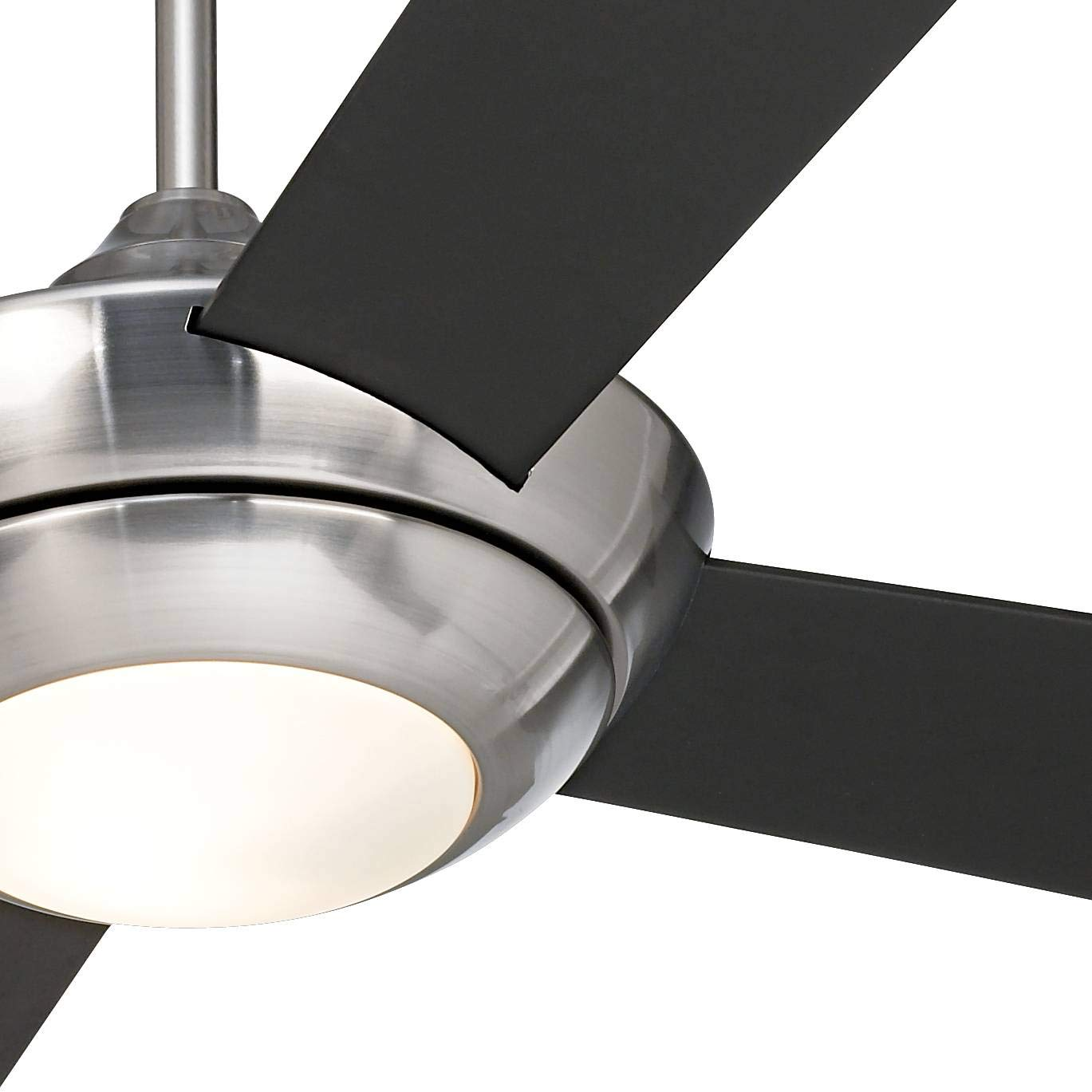 52 Casa Vieja Debute Brushed Nickel LED Ceiling Fan – Casa Vieja