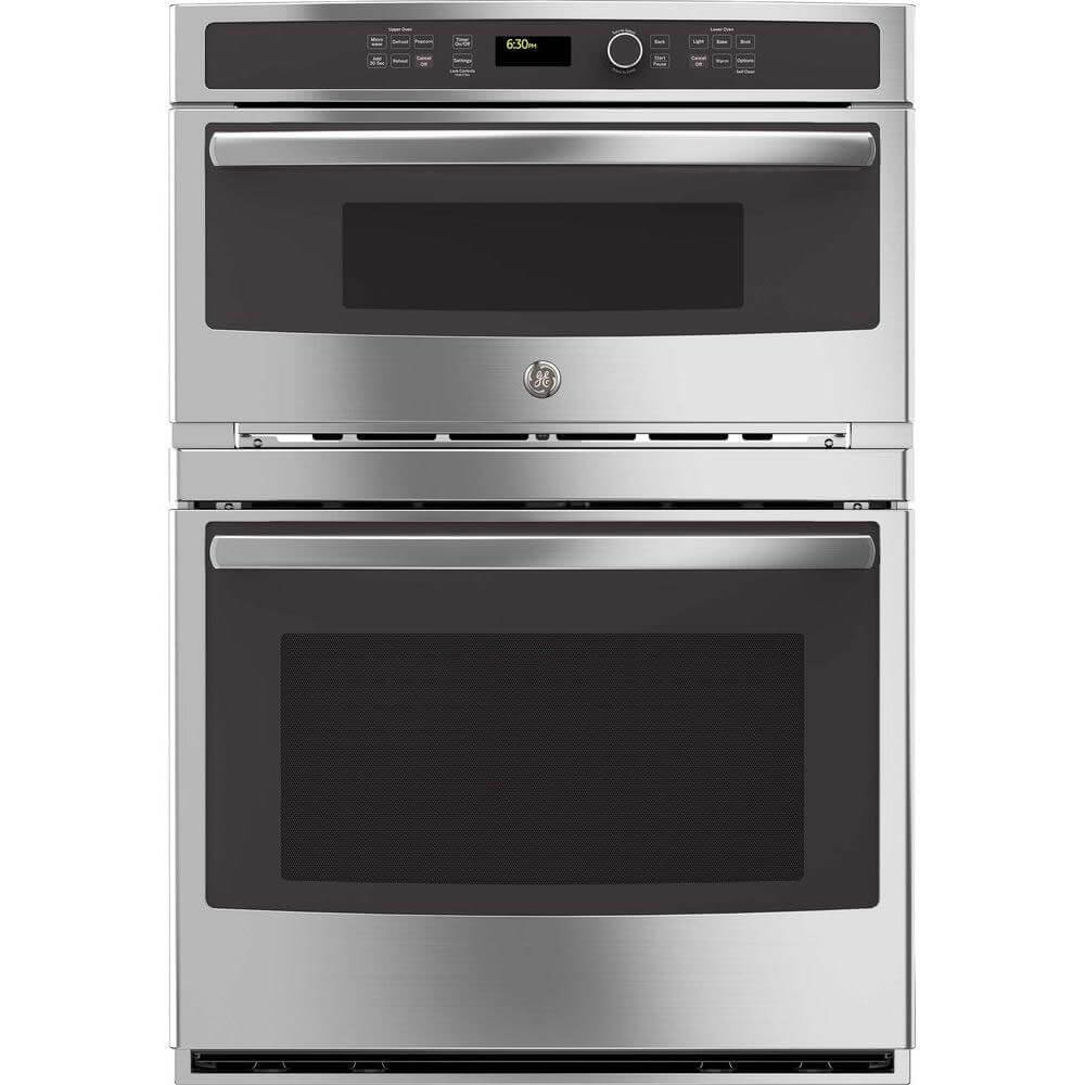 GE JT3800SHSS 30'' Stainless Steel Electric Combination Wall Oven