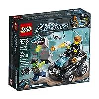 LEGO, agentes ultra, incursión de la orilla (70160)
