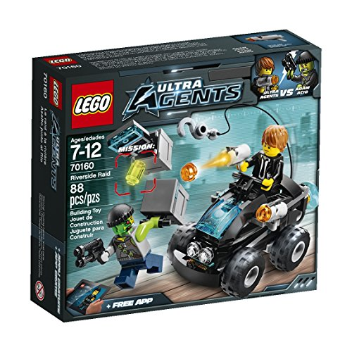 LEGO, Ultra Agents, Riverside Raid (70160) (Quad Bike Lego)
