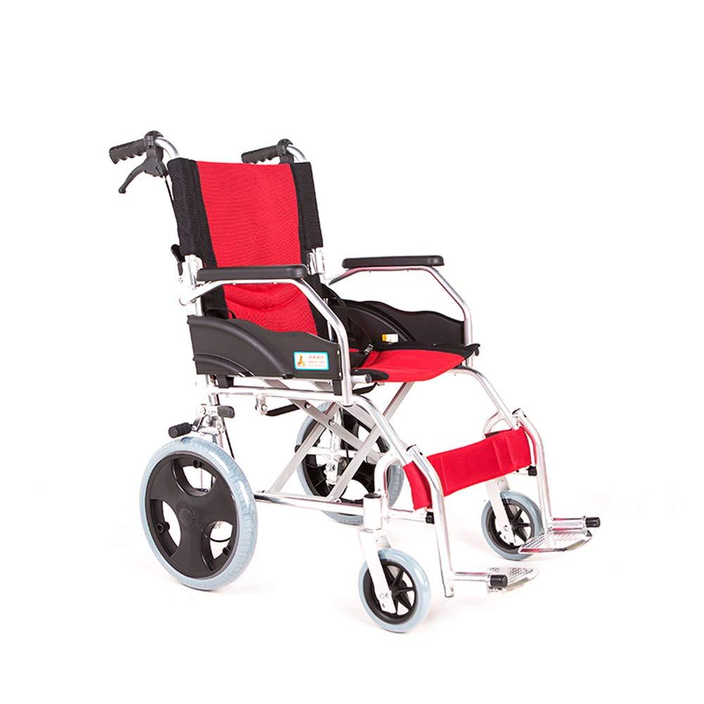超爆安  FEIFEI アルミ合金車椅子折りたたみポータブルトロリー障害者高齢者スクーター旅行車いす B07GXMZXPX FEIFEI B07GXMZXPX, 織田町:5d810214 --- a0267596.xsph.ru