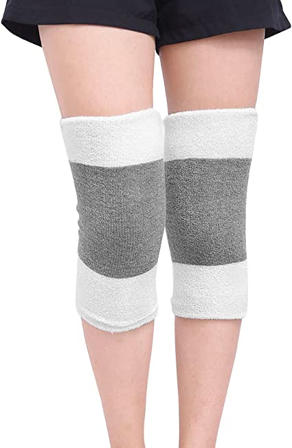 Afinder Teens Adults Compression Knee Warmer Thermal Cozy Arthritis Tendonitis Knee Sleeve Leg Warmer Stretchy Knee Brace Leg Protector Guard for Ski Cycling Motorcycle Dance Running