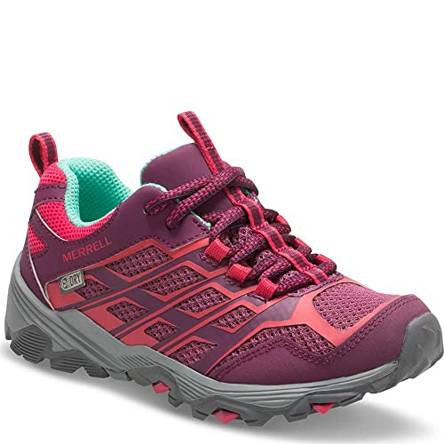 b1535a7543 Merrell Girls ml-G Moab Fst Waterpoof Low Rise Hiking Shoes: Amazon ...