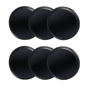 K/üchenschr/änke und Tablet schwarz Abnehmbar und Waschbar 3 Formen euhuton 6 St/ücke doppelseitiges klebende Gel Pads Selbstklebend Handyhalterung Gel Anti-Rutsch-Pad f/ür Handy GPS Wand