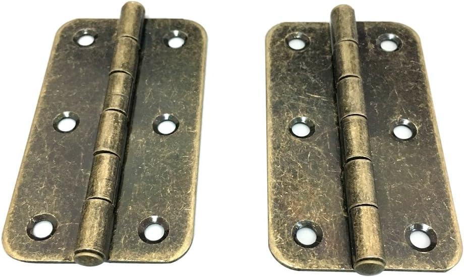 # 4 Antike M/öbelband M/öbelb/änder M/öbelscharniere Scharnier Truhenband T/ürband