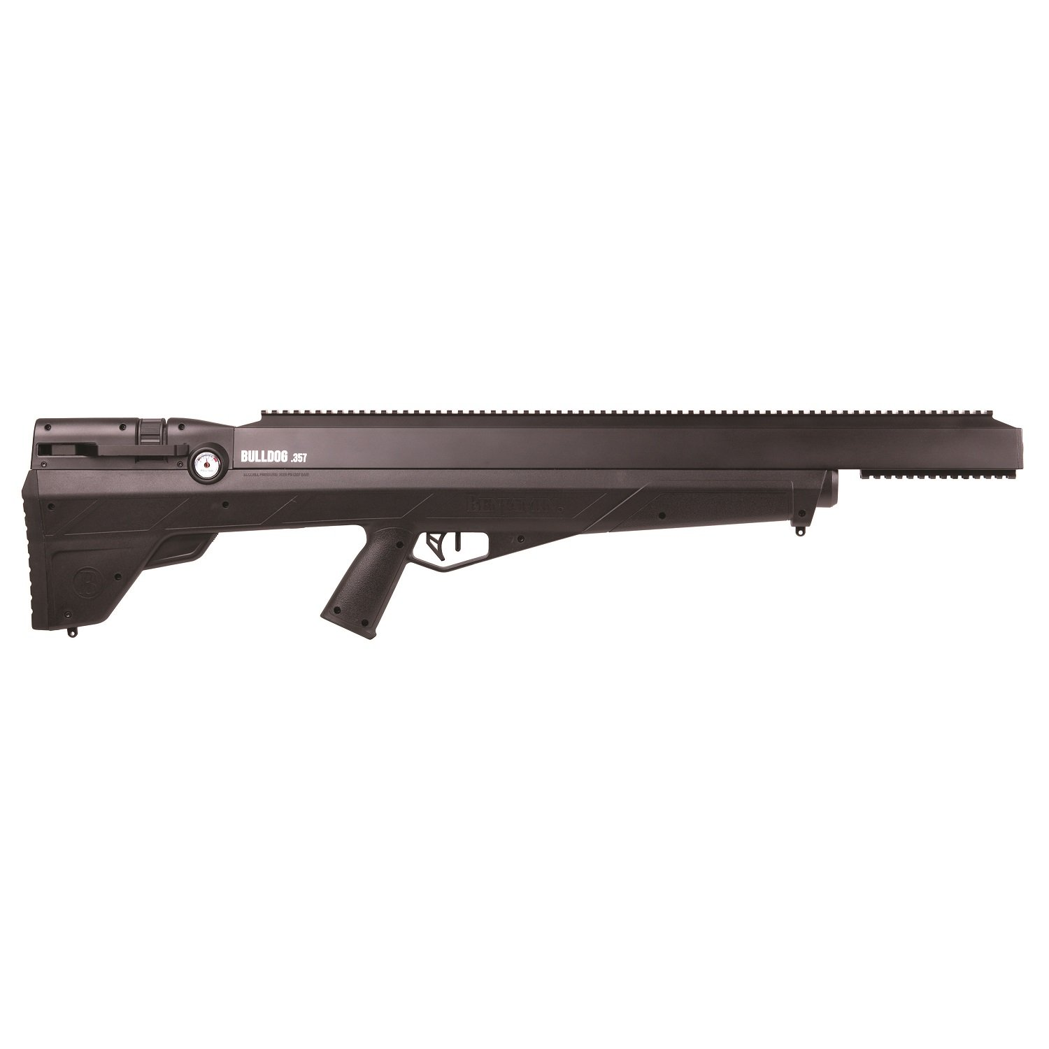 Amazon.com : Benjamin BPBD3S Bulldog .357 PCP Hunting Rifle, Black : Sports  & Outdoors