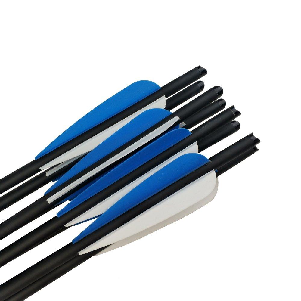 5 Stk Armbrustbolzen Carbon Bolzen Für Armbrust Armbrustpfeile 14 Zoll Schwarz SchöN In Farbe Pfeile & Komponenten Bogenschießen