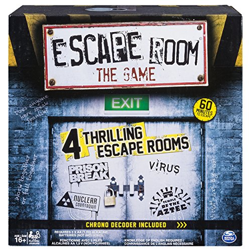 Spin Master Games - Escape Room The Game]()