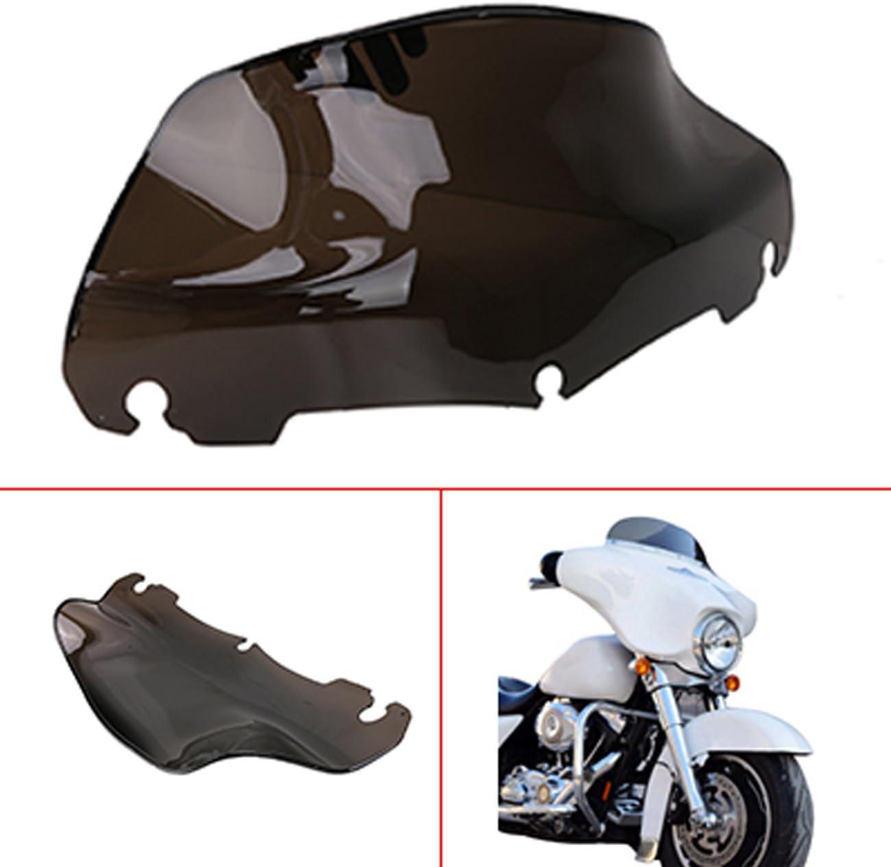 buyinhouse Fit for 2014-2019 Harley Davidson Touring,Electra Glide,Street Glide,Ultra Limited /& Tri-Glide Ultra Motorcycle Chrome Tri-Line Gauge Trim