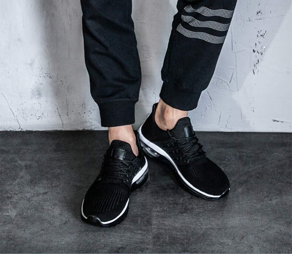SHANGWU Männer Sommer Sportschuhe Mode Mode Mode Sportschuhe Rutschfeste Tragbare Stoßdämpfer Student Laufschuhe Herren FreizeitschuheMen Air Cushion Laufschuhe f1e1b2