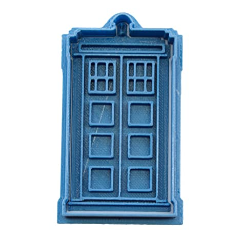 Cuticuter Doctor Who Tardis Cortador de Galletas, Azul, 8x7x1.5 cm
